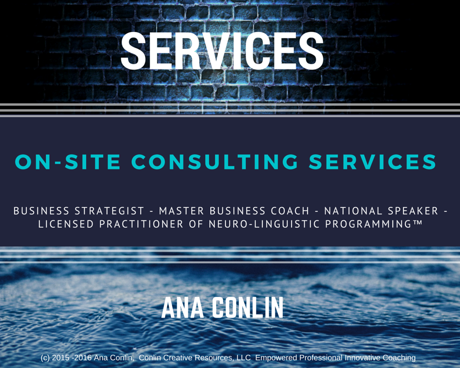 On site consulting services